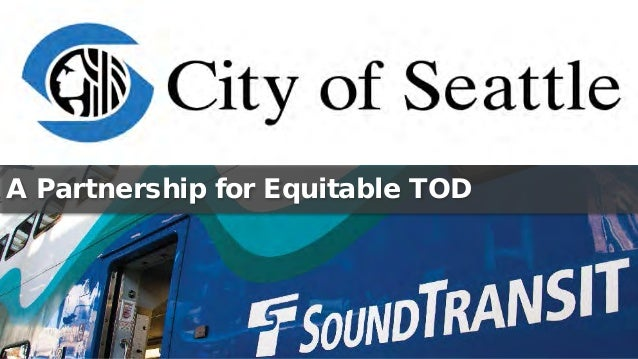 A Partnership for Equitable TOD