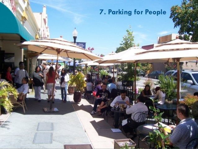 9. Create Great Places to Walk 30