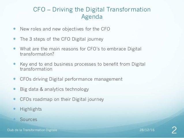 CFO Driving the digital transformation Slide 2