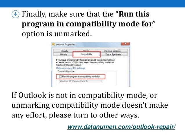how to fix microsoft outlook 2007 problems