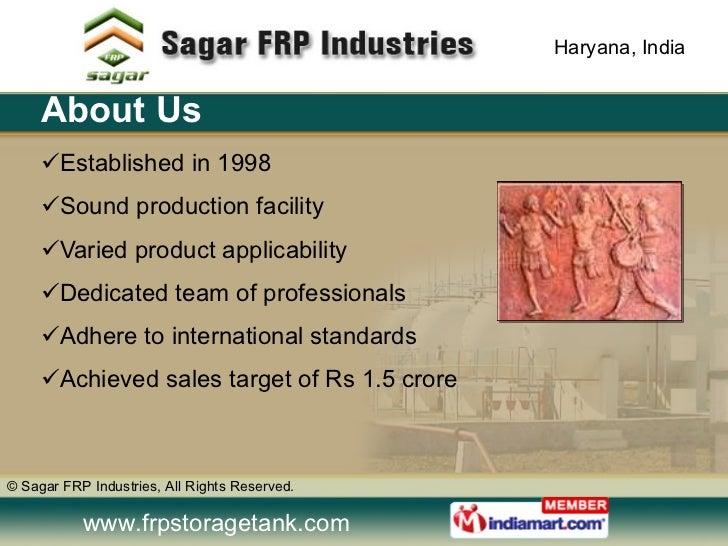 FRP / GRP Products by Sagar FRP Industries Gurgaon Slide 2