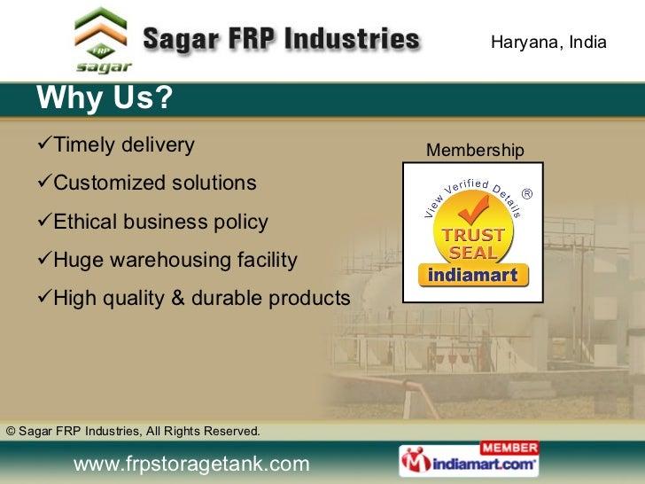 FRP / GRP Products by Sagar FRP Industries Gurgaon Slide 3