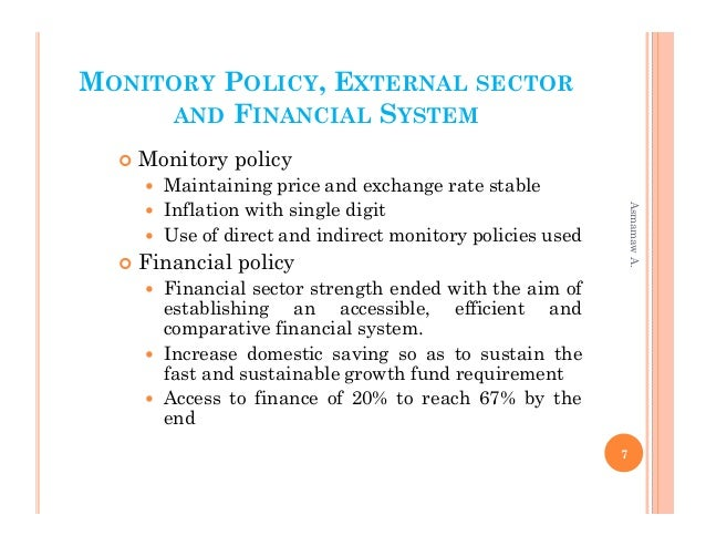 the ethiopian financial sector reform Ethiopian banking sector needs to be tuned to the following additional market-oriented reforms in order to benefit positively from the harmonization of financial intermediation with economic growth.