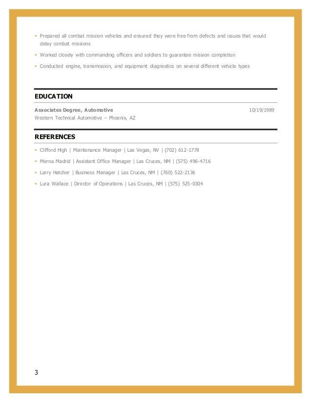 vincent new resume 2017