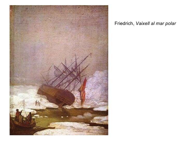 Friedrich,  Vaixell al mar polar