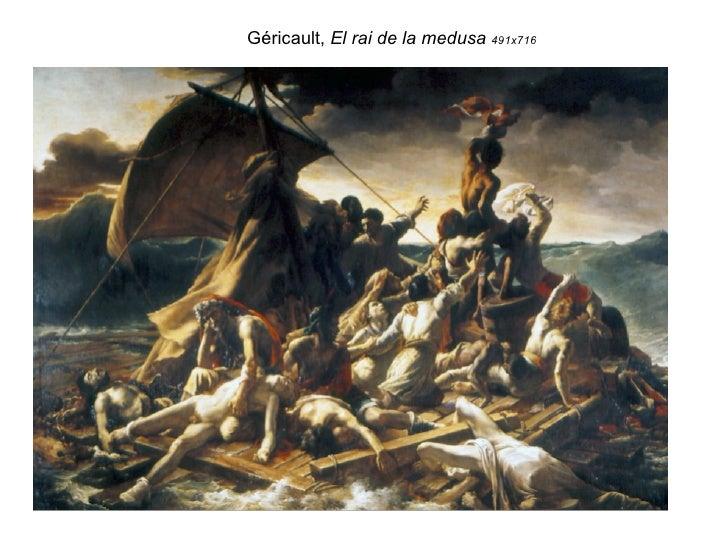 Géricault,  El rai de la medusa  491x716