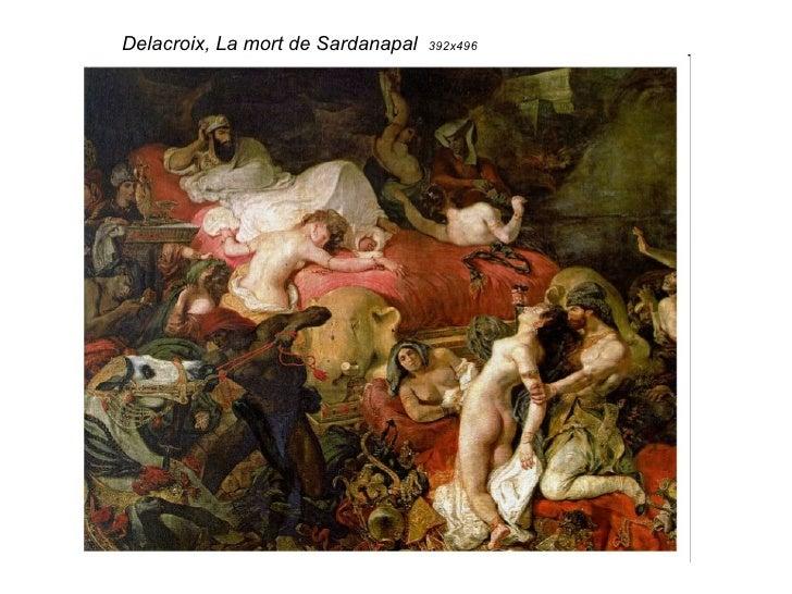 Delacroix, La mort de Sardanapal  392x496