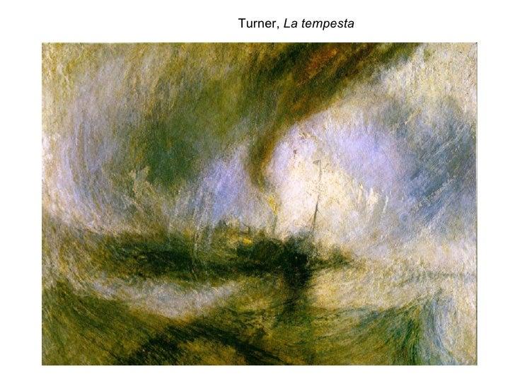 Turner,  La tempesta