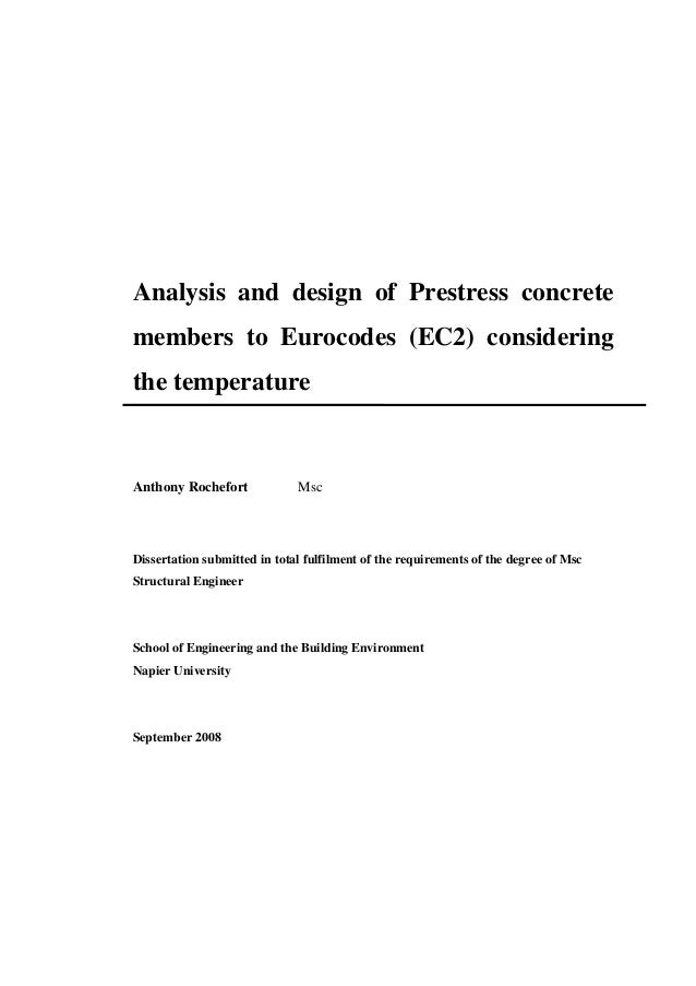 Phd thesis concrete slabs