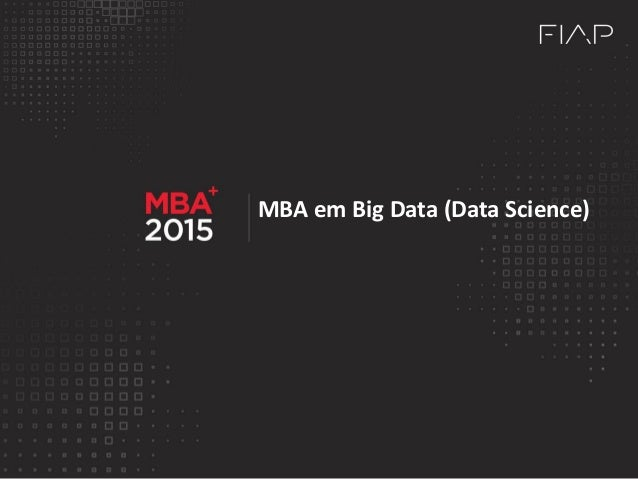 MBA em Big Data (Data Science)