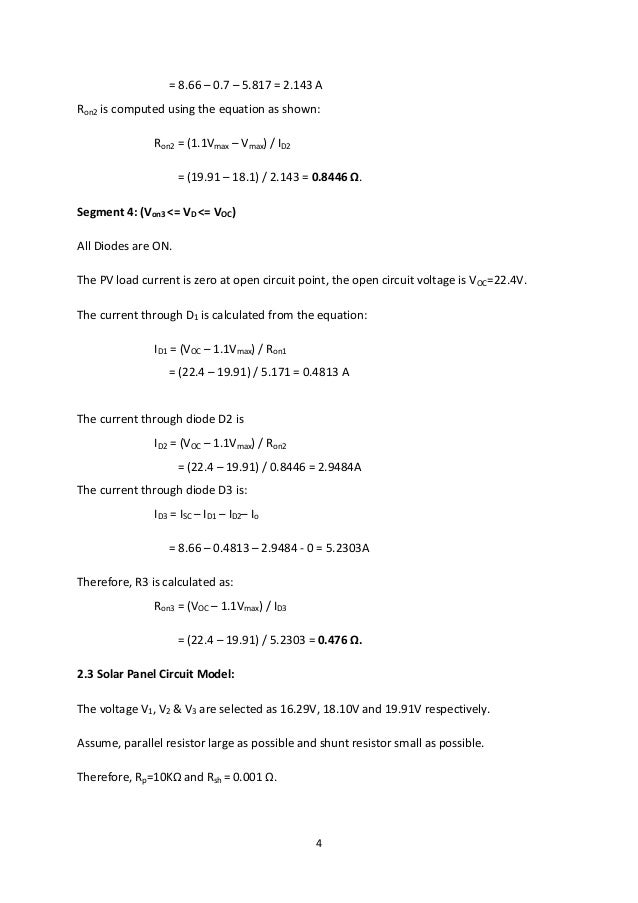 4 = 8.66 – 0.7 – 5.817 = 2.143 A Ron2 is computed using the equation as shown: Ron2 = (1.1Vmax – Vmax) / ID2 = (19.91 – 18...