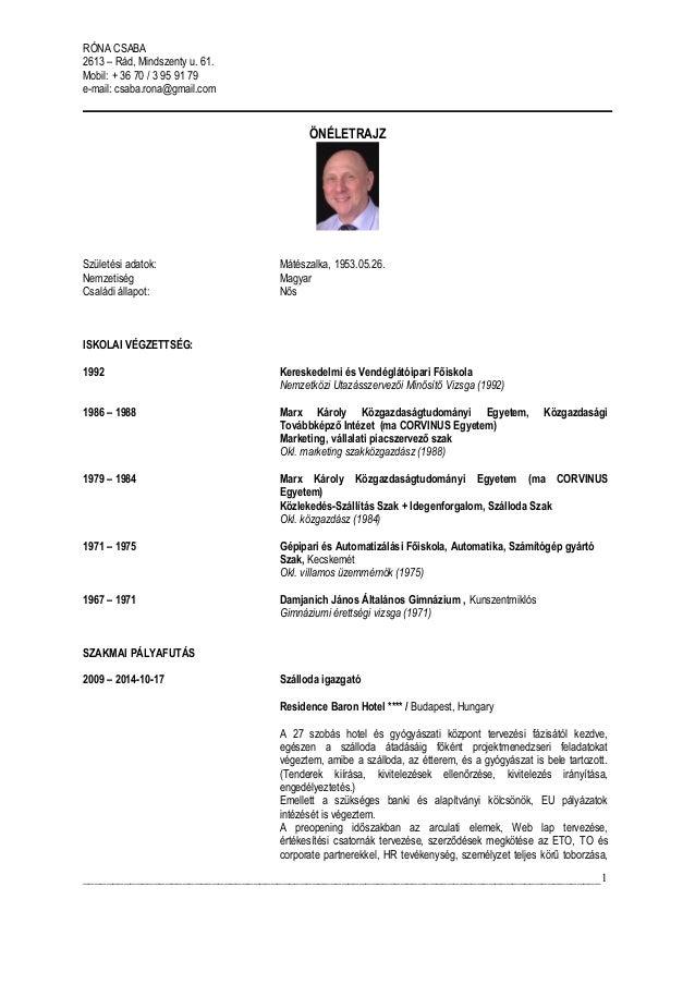 önéletrajz osztrák CV RCS HU 2015 03 03 önéletrajz osztrák