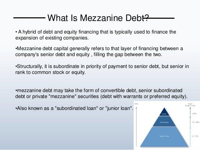 what is debt financing pdf