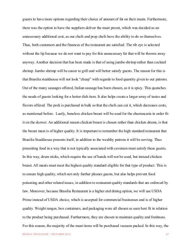 brasília steakhouse final pdf