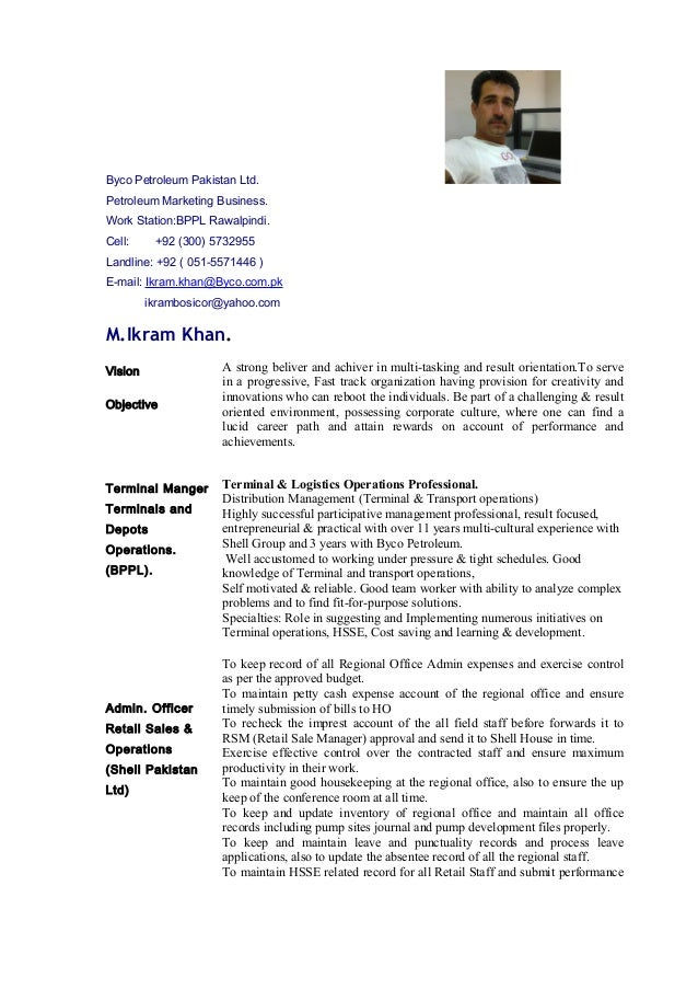 Byco Petroleum Pakistan Ltd. Petroleum Marketing Business. Work Station:BPPL Rawalpindi. Cell: +92 (300) 5732955 Landline:...