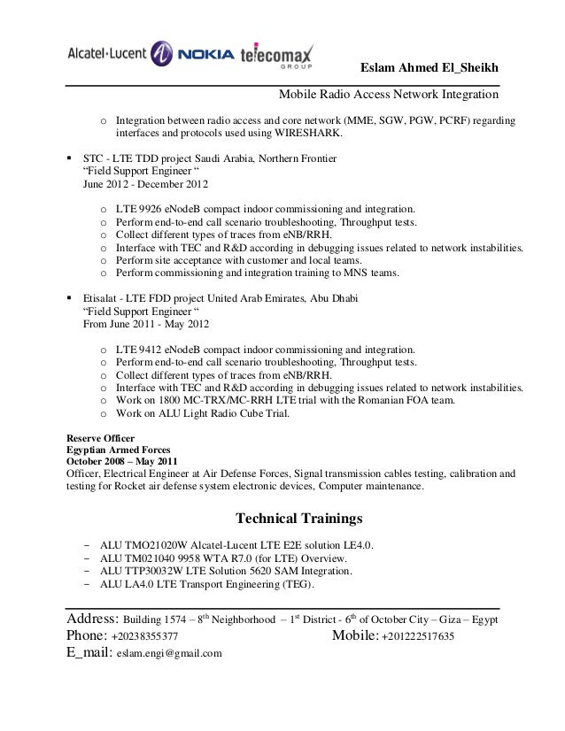 radio broadcast engineer resume elioleracom - Broadcasting Engineer Resume