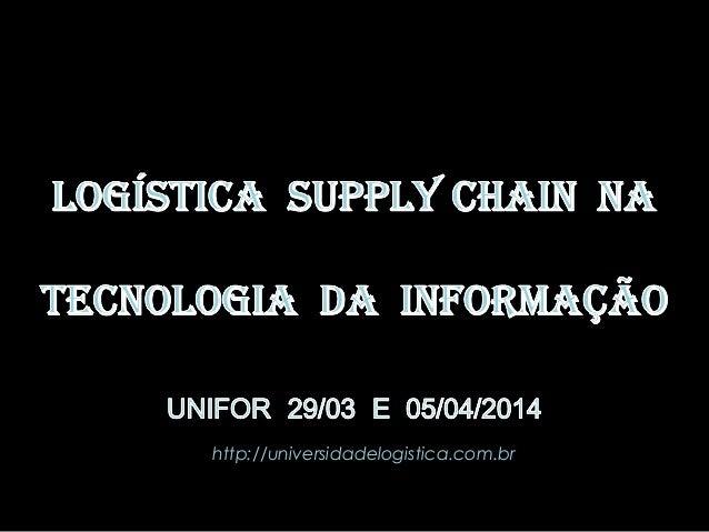 http://universidadelogistica.com.br PROF. Ms. DELANO CHAVES  1