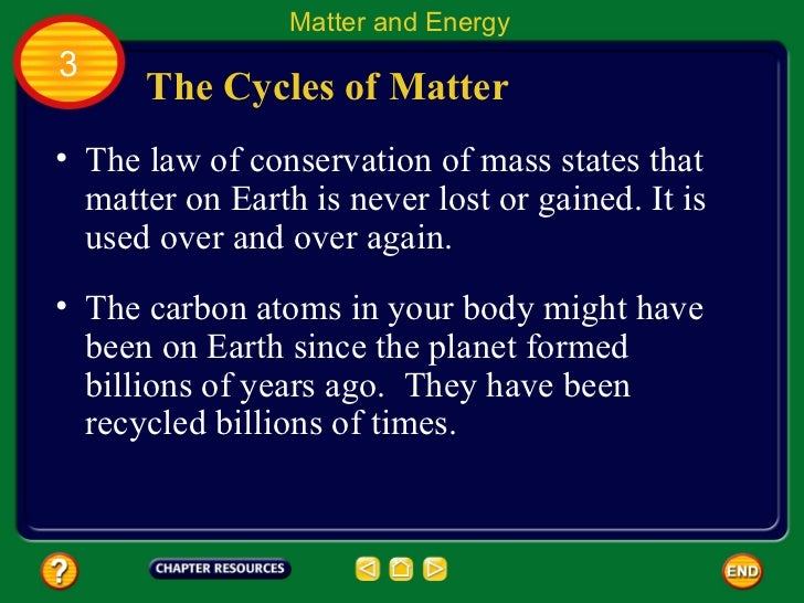Chapter 93 Matter and Energy in Ecosystems – Cycles of Matter Worksheet