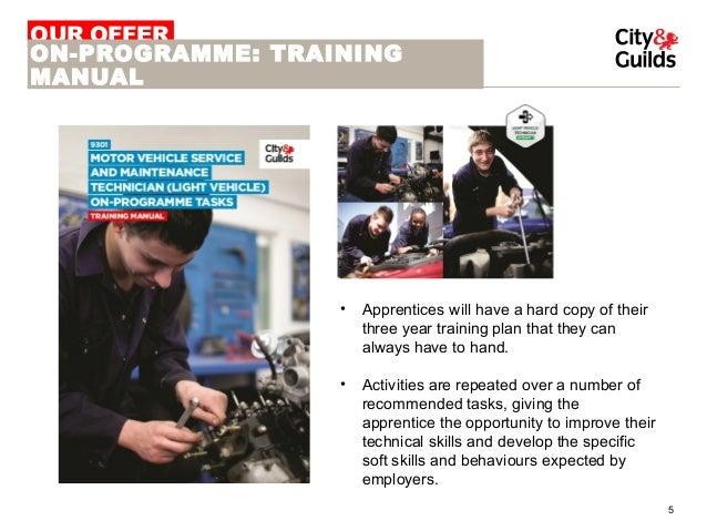 city guilds automotive retail motor vehicle service maintenance rh slideshare net Automotive Technician Training Documentation Automotive Technician Education