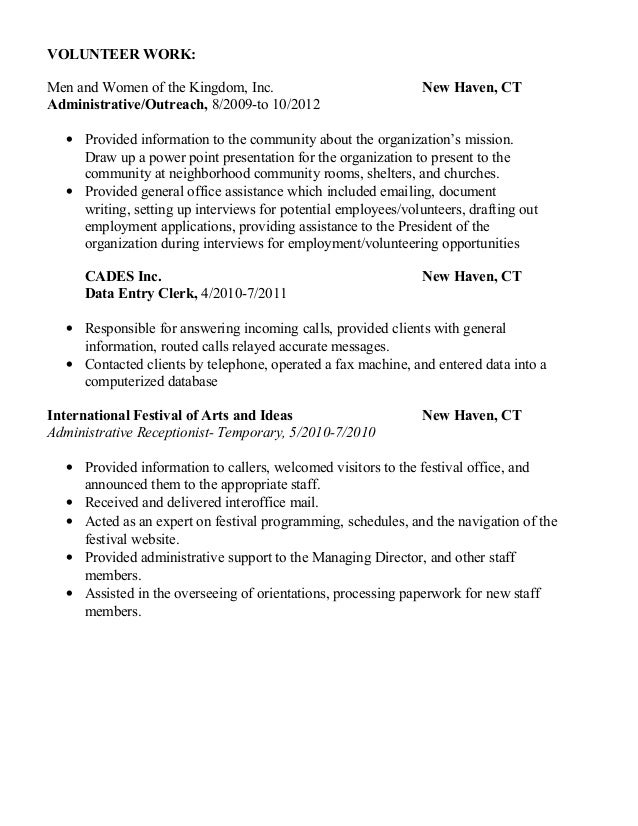 Resume writing services new haven ct