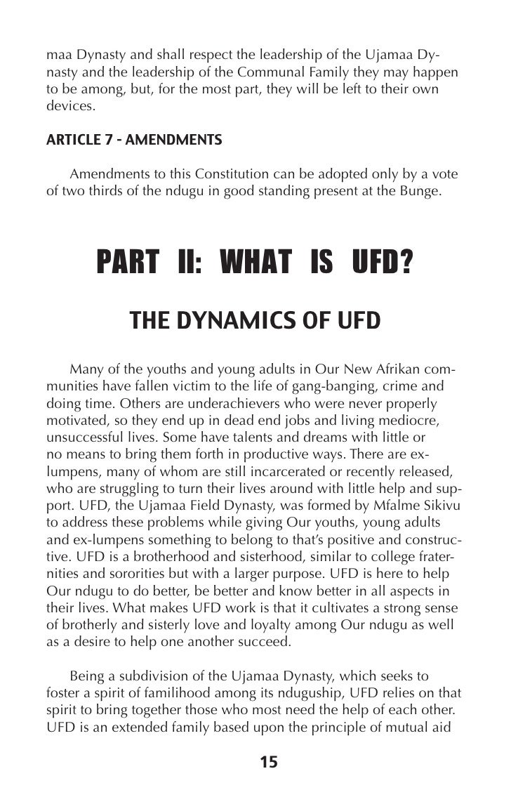 Rbg blueprint for ujamaa dynasty 17 20 ufd is about continuous growth and development malvernweather Gallery