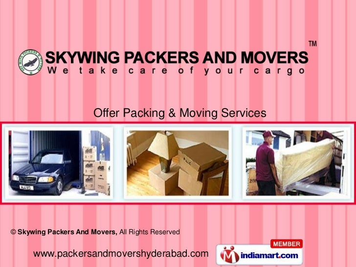 Offer Packing & Moving Services© Skywing Packers And Movers, All Rights Reserved      www.packersandmovershyderabad.com