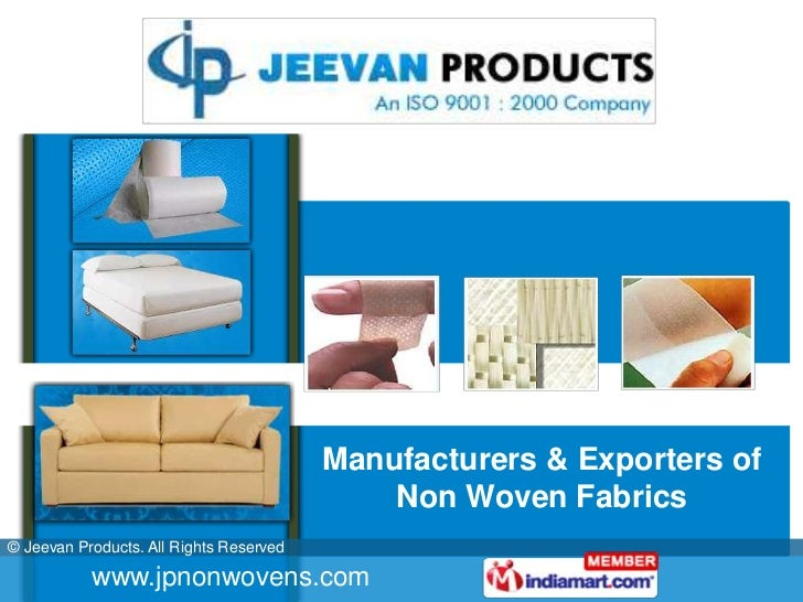 Manufacturers & Exporters of Non Woven Fabrics