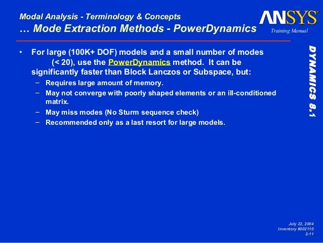 ANSYS Reference Manuals - Educating Global Leaders