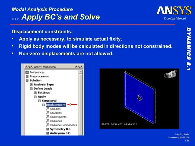ansys workbench modal analysis guide