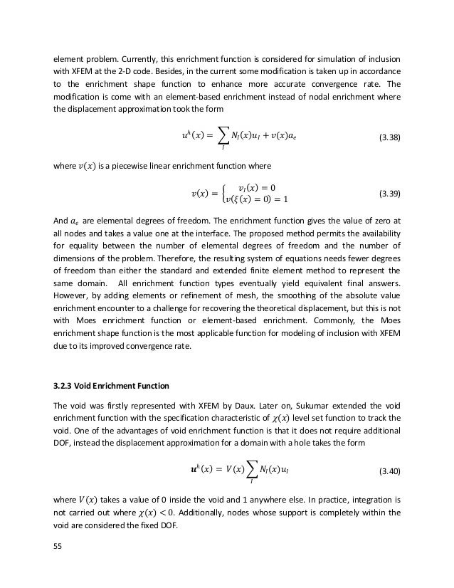 xfem master thesis