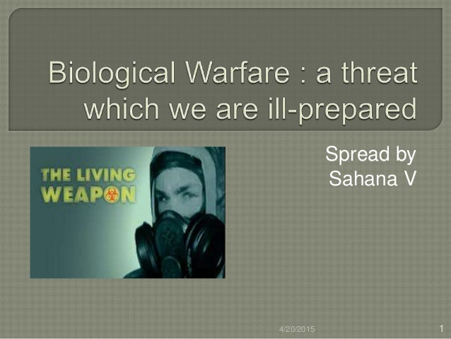an introduction to the chemical warfare agents Chapter 2 history of chemical and medical aspects of chemical and biological warfare 10 introduction to propose the use of chlorine as a chemical warfare agent.
