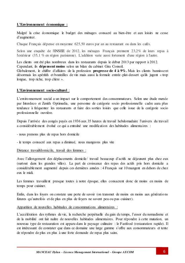 Rapport de stage 3eme cuisine 100 images rapport de - Rapport de stage en cuisine ...