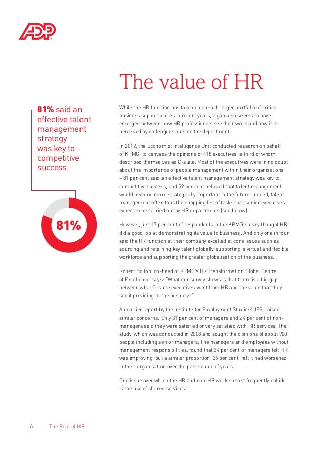 research paper on role of hr in tqm Influence of total quality management on human resource management practices- an exploratory study  upgrading the role of hr  tqm paper type: research paper.