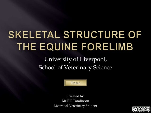 University of Liverpool,School of Veterinary Science                Enter             Created by          Mr P P Tomlinson...