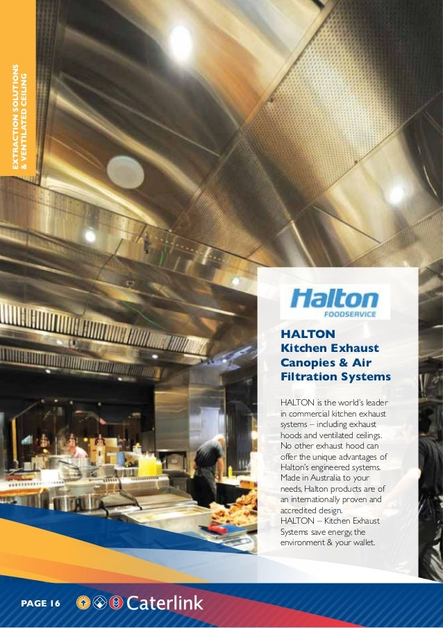 caterlink product catalogue halton kitchen