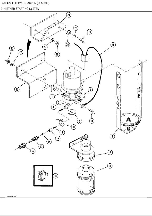 9370 9380 9390 Case Ih 4wd Tractor Parts Catalog