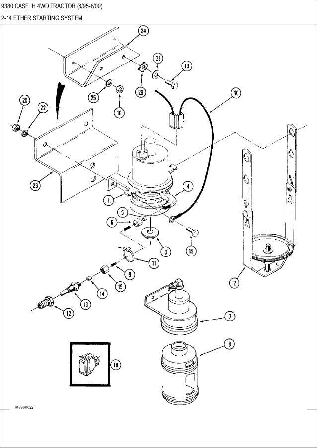 9370, 9380, 9390 CASE IH 4WD tractor parts catalog