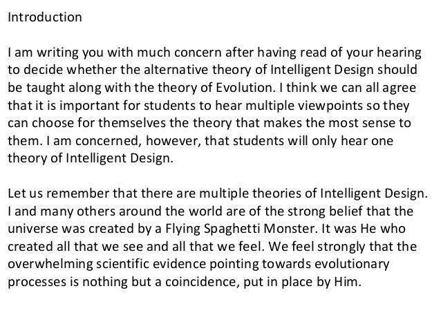 Should Intelligent Design Be Taught Alongside Evolution