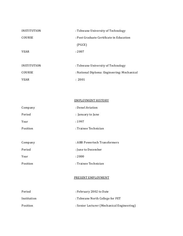 Mthimunye CV 2014 (2)