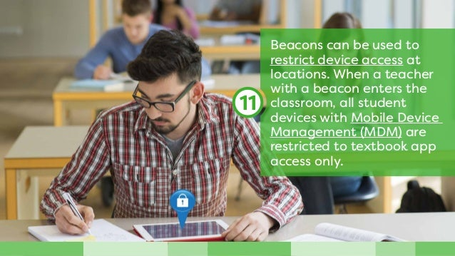 Mass-produced paper programs are no longer necessary at sporting events, where beacons enable virtual athletic programs th...