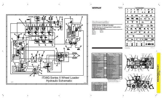 938 g ii hydraulic systems Caterpillar Hydraulic Diagram schematic hydraulic system track
