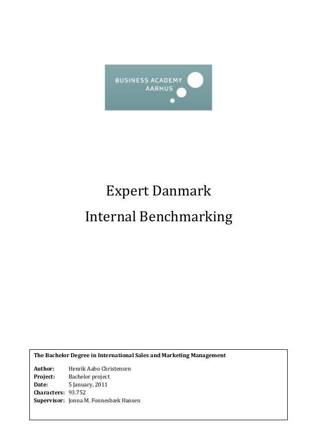 Internal Benchmark - Expert Danmark