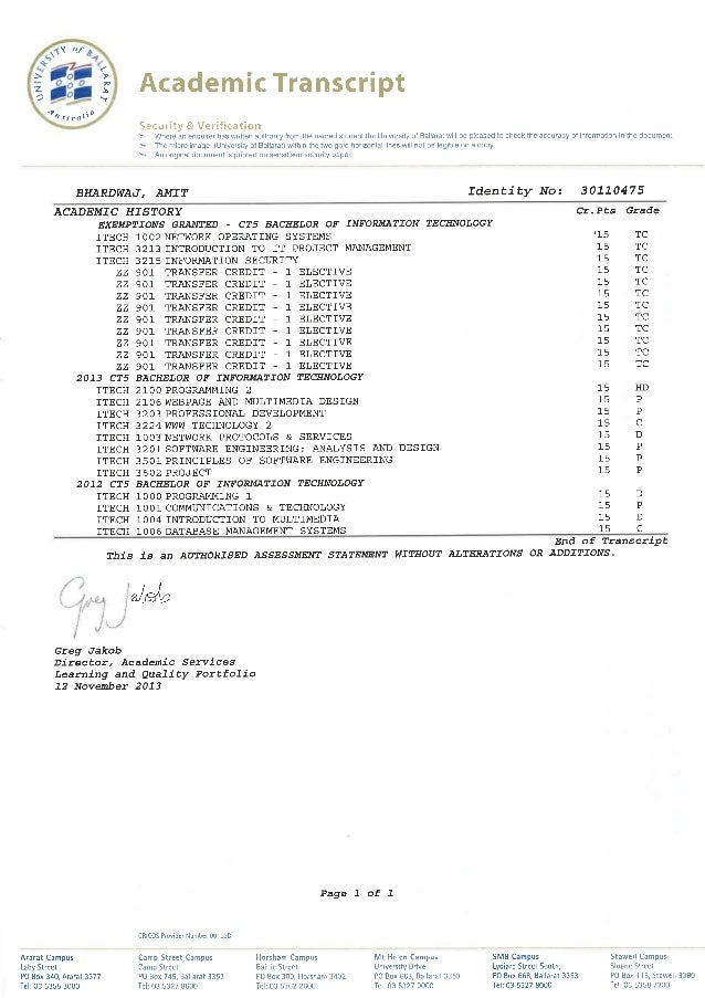 AMIT BHARADWAJ UNI DOCUMENTS