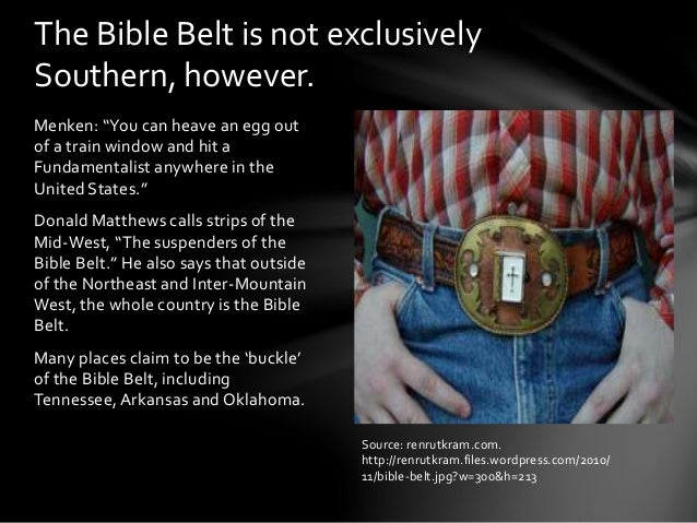 belt bible sex