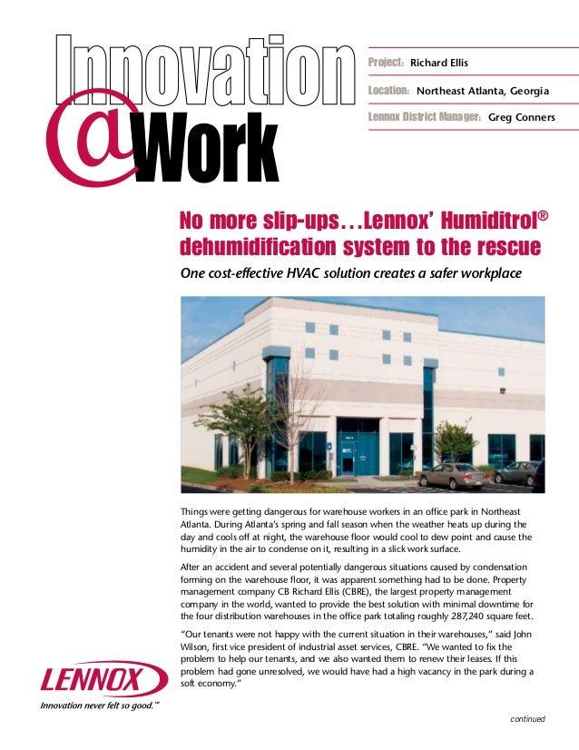 Lennox humiditrol dehumidification system for Lennox program