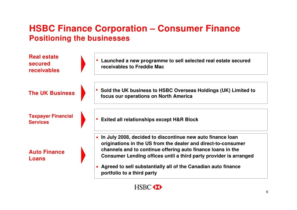 HSBC In North America (USA & Canada)