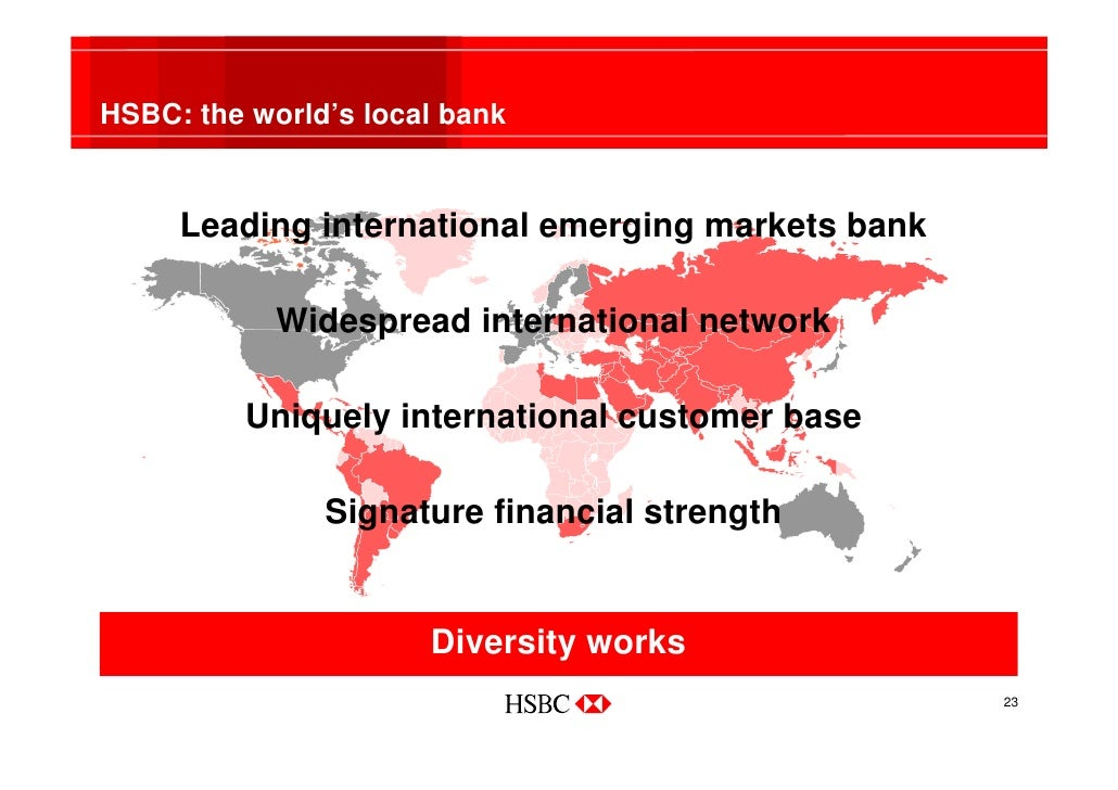 marketing mix of hsbc bank Careers in global banking and markets at hsbc offer roles in areas including investment banking  from human resources and marketing to strategy and risk.