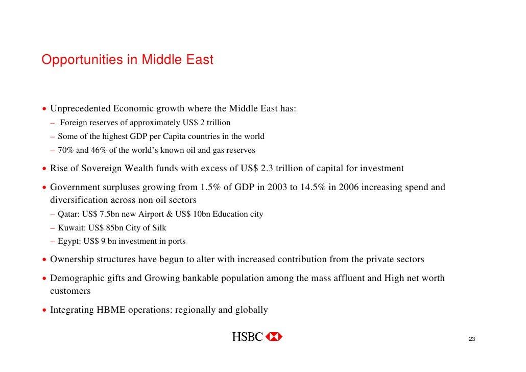 HSBC Dubai Investor Roadshow