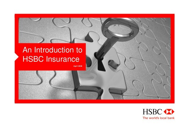 An introduction to HSBC Insurance