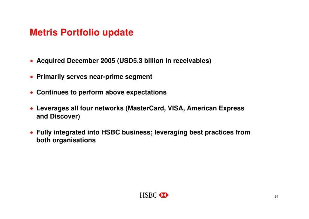 HSBC Chicago Investor Roadshow